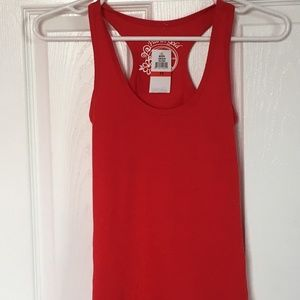 Planet Gold NWT red racerback tank, size XS